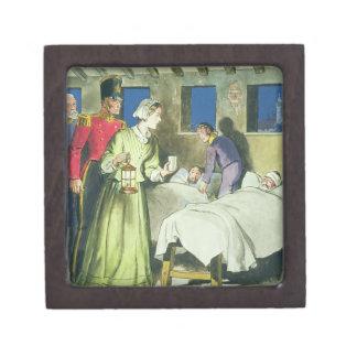 Florence Nightingale (1820-1910) from 'Peeps into Premium Keepsake Box