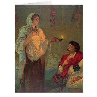 Florence Nightingale 1891 Tarjeta De Felicitación Grande