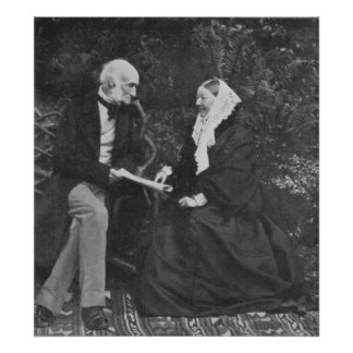 Florence Nightingale and Sir Harry Verney Posters