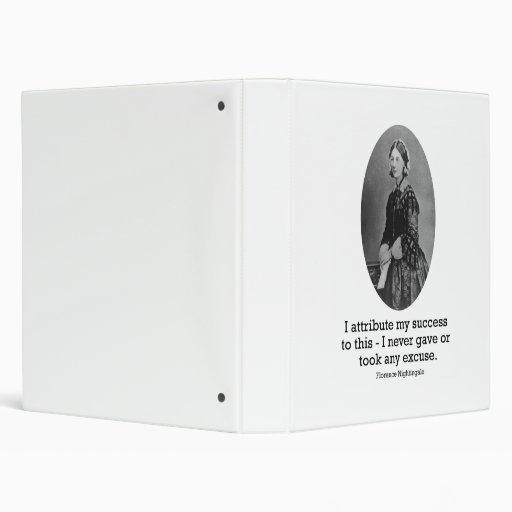 Florence Nightingale binder