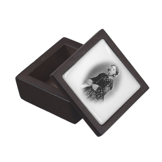 Florence Nightingale Cameo/Nurses Jewelry Box