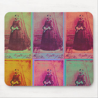 Florence Nightingale Colors Mouse Pad