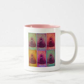 Florence Nightingale Colors Two-Tone Coffee Mug