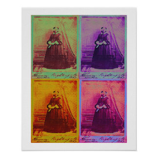 Florence Nightingale Colors Poster Print