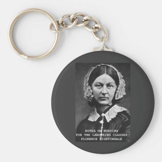 Florence Nightingale:Notes on Nursing Keychain