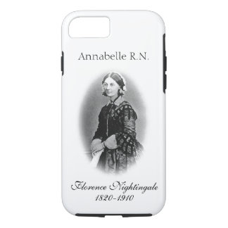 Florence Nightingale-Nurse+ Name iPhone 7 Case