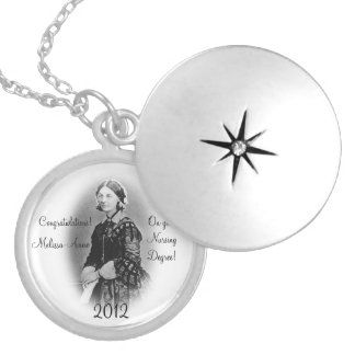 Florence Nightingale-Nursing Graduate+Personalize Lockets