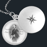 """Florence Nightingale-Nursing Graduate Personalize Silver Plated Necklace<br><div class=""""desc"""">This is a lovely gift for a nursing student or graduate, featuring a cameo of Florence Nightingale herself in this pretty necklace, and text that says &quot;Congratulations&quot;, then your grad&#39;s name... and on the other side of Florence it says, &quot;On your Nursing Degree!&quot; which can be customized to say &quot;diploma&quot;...</div>"""