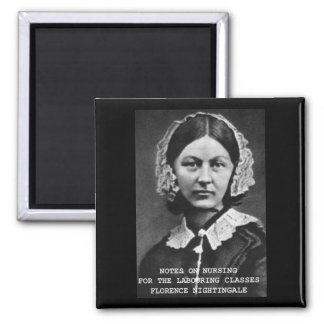 Florence  Nightingale  - Nursing Notes Fridge Magnets
