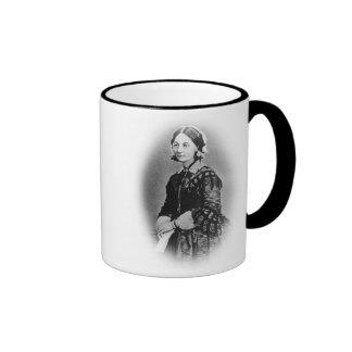 Florence Nightingale Pledge-Cameo Photograph Ringer Coffee Mug