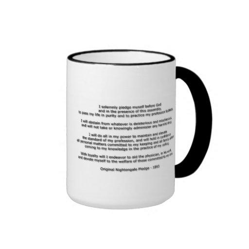 Florence Nightingale Pledge Coffee Mugs