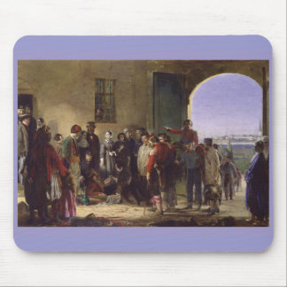 Florence Nightingale Receiving the Wounded Scutari Mouse Pad