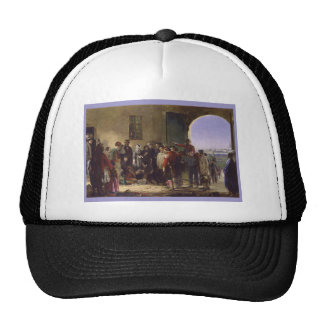Florence Nightingale Receiving the Wounded Scutari Trucker Hat