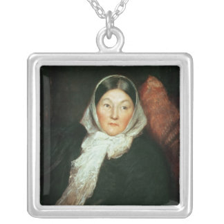 Florence Nightingale Square Pendant Necklace