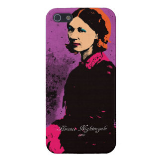 Florence Nightingale with Pop Art Case For iPhone SE/5/5s