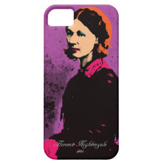 Florence Nightingale with Pop Art iPhone SE/5/5s Case