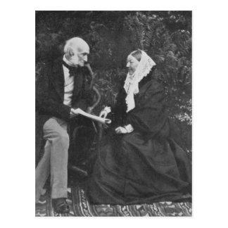 Florence Nightingale y sir Harry Verney Postal