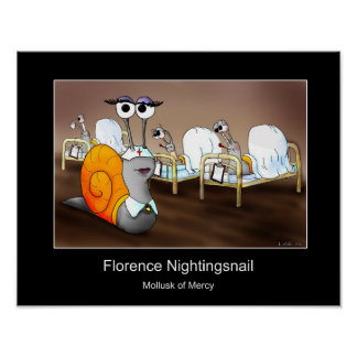 Florence Nightingsnail Poster