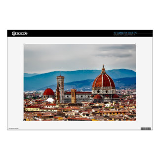 Florence old city, Italy skyline Decal For Laptop