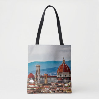 Florence old city, Italy skyline Tote Bag