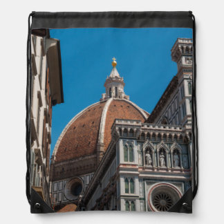 Florence or Firenze Italy Duomo Drawstring Backpack