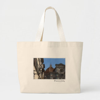 Florence or Firenze Italy Duomo Large Tote Bag