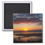 Florence, Oregon 2 Inch Square Magnet