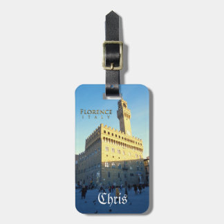 Florence - Palazzo Vecchio Bag Tag