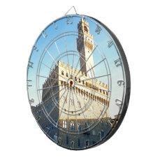 Florence - Piazza della Signoria Dartboard