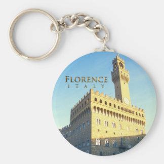 Florence - Piazza della Signoria Keychain
