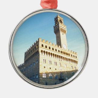 Florence - Piazza della Signoria Metal Ornament