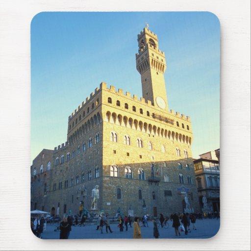 Florence - Piazza della Signoria Mousepads