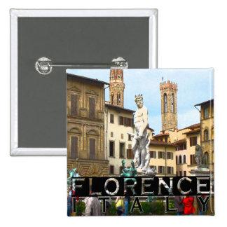 Florence Pinback Button