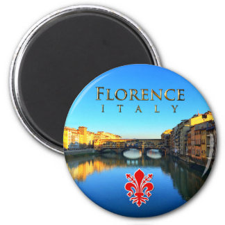 Florence - Ponte Vecchio 2 Inch Round Magnet