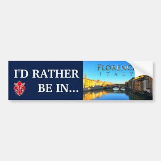 Florence - Ponte Vecchio Bumper Sticker