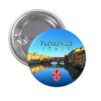 Florence - Ponte Vecchio Button