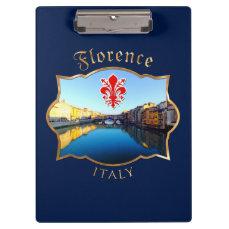 Florence - Ponte Vecchio Clipboard