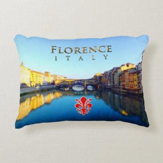 Florence - Ponte Vecchio Decorative Pillow