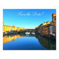 Florence - Ponte Vecchio Invitation