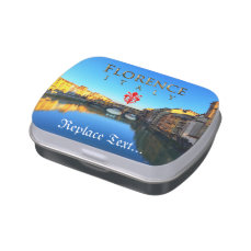 Florence - Ponte Vecchio Jelly Belly Candy Tins