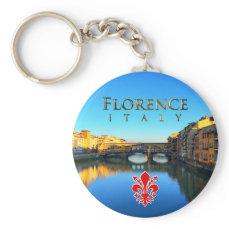 Florence - Ponte Vecchio Keychain