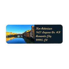 Florence - Ponte Vecchio Label