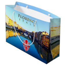 Florence - Ponte Vecchio Large Gift Bag