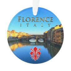 Florence - Ponte Vecchio Ornament