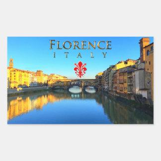 Florence - Ponte Vecchio Rectangular Sticker