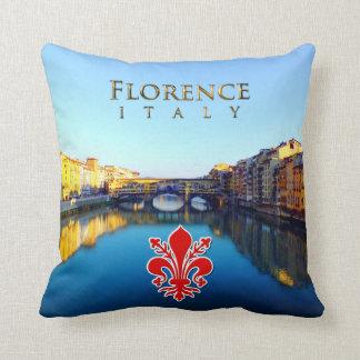 Florence - Ponte Vecchio Throw Pillow