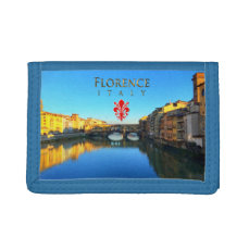 Florence - Ponte Vecchio Tri-fold Wallets