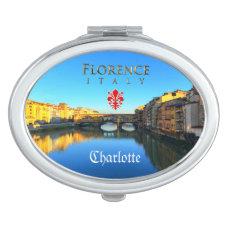 Florence - Ponte Vecchio Vanity Mirror