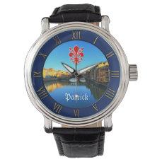 Florence - Ponte Vecchio Wrist Watch