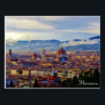 "Florence Postcard<br><div class=""desc"">Florence from Piazza Michelangelo.</div>"